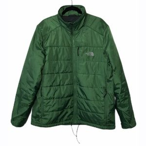 The North Face Green Lightweight Puffer Jacket- XL
